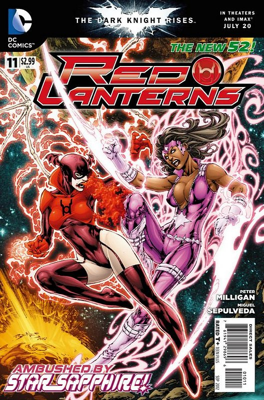 Cover of Red Lanterns (Vol 1) #11. One of 250,000 Vintage American Comics on sale from Krypton!
