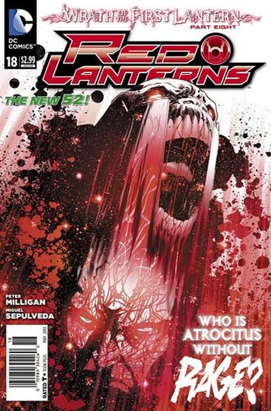 Cover of Red Lanterns (Vol 1) #18. One of 250,000 Vintage American Comics on sale from Krypton!