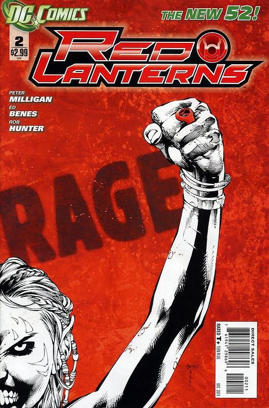 Cover of Red Lanterns (Vol 1) #2. One of 250,000 Vintage American Comics on sale from Krypton!