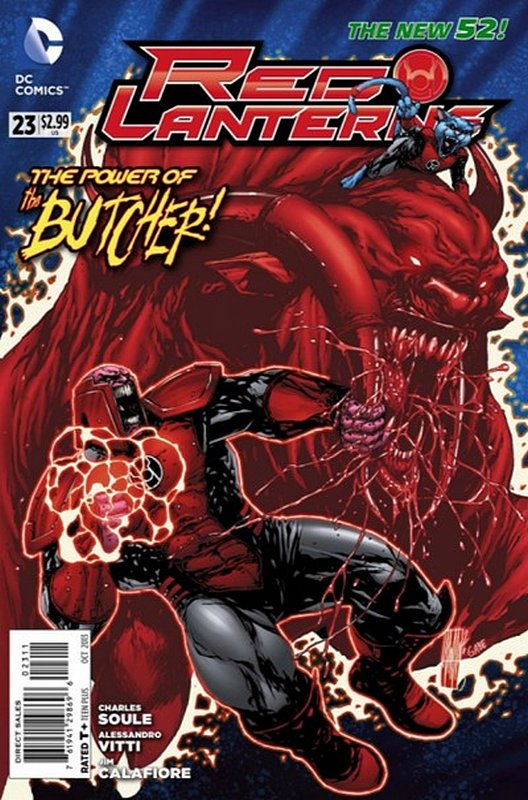 Cover of Red Lanterns (Vol 1) #23. One of 250,000 Vintage American Comics on sale from Krypton!
