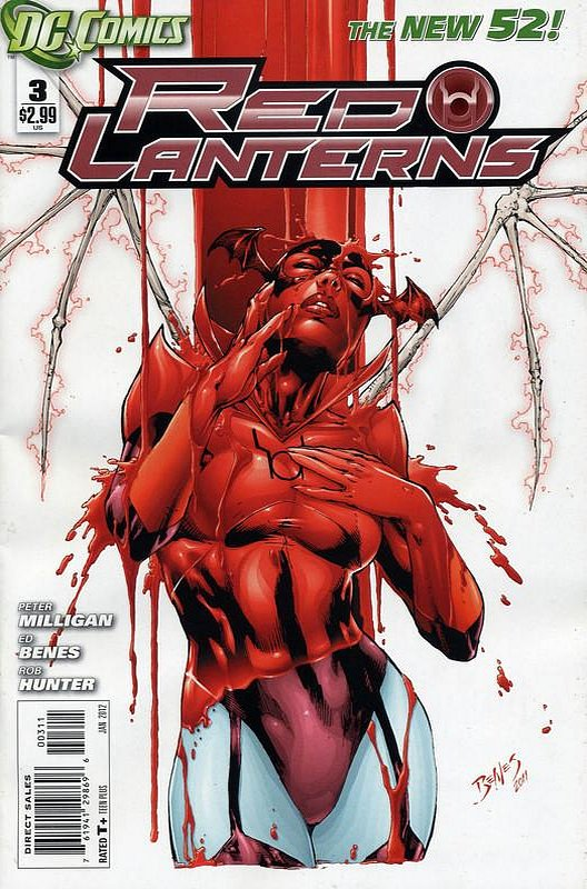 Cover of Red Lanterns (Vol 1) #3. One of 250,000 Vintage American Comics on sale from Krypton!