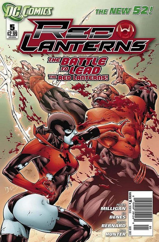 Cover of Red Lanterns (Vol 1) #5. One of 250,000 Vintage American Comics on sale from Krypton!