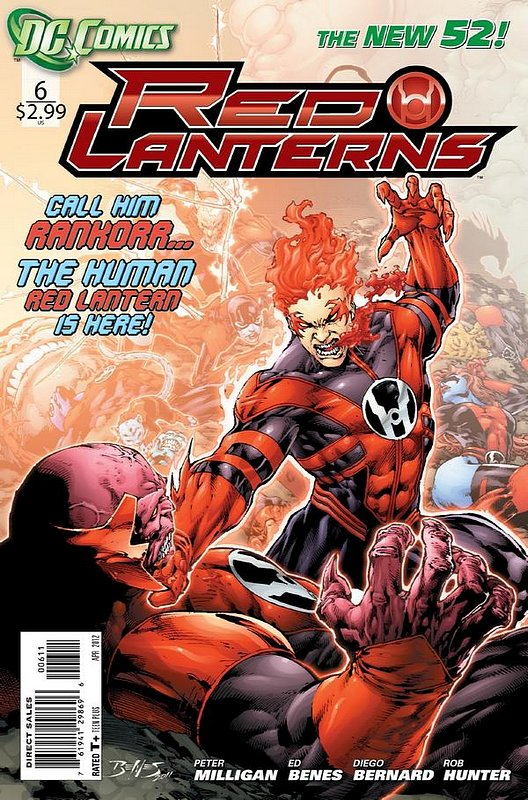 Cover of Red Lanterns (Vol 1) #6. One of 250,000 Vintage American Comics on sale from Krypton!