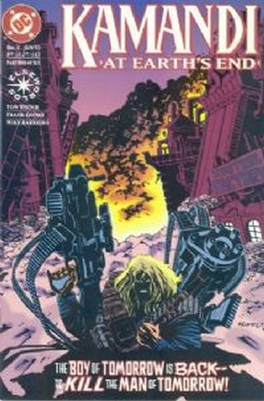 Cover of Kamandi: At Earths End (1993 Ltd) #1. One of 250,000 Vintage American Comics on sale from Krypton!