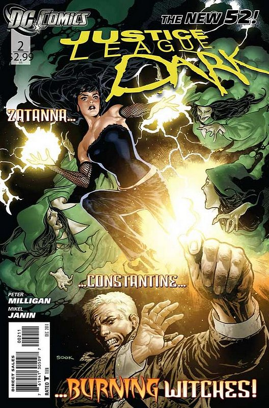 Cover of Justice League Dark (Vol 1) #2. One of 250,000 Vintage American Comics on sale from Krypton!
