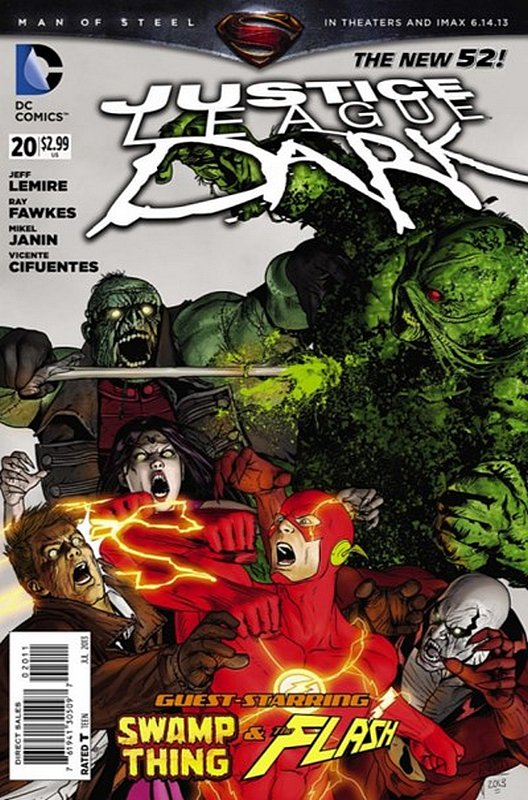 Cover of Justice League Dark (Vol 1) #20. One of 250,000 Vintage American Comics on sale from Krypton!