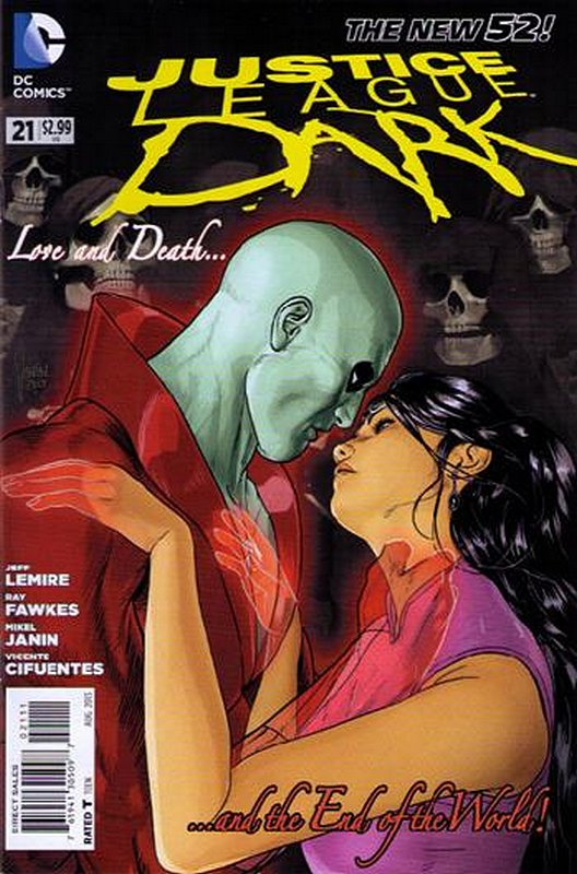 Cover of Justice League Dark (Vol 1) #21. One of 250,000 Vintage American Comics on sale from Krypton!