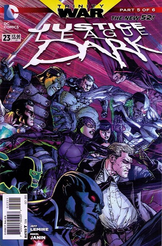 Cover of Justice League Dark (Vol 1) #23. One of 250,000 Vintage American Comics on sale from Krypton!