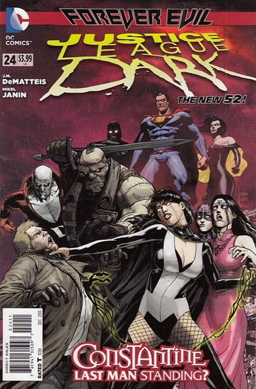 Cover of Justice League Dark (Vol 1) #24. One of 250,000 Vintage American Comics on sale from Krypton!