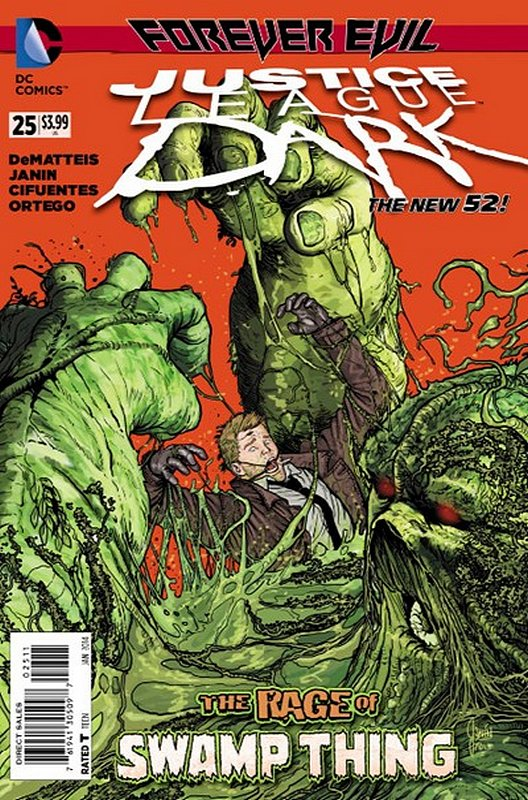 Cover of Justice League Dark (Vol 1) #25. One of 250,000 Vintage American Comics on sale from Krypton!