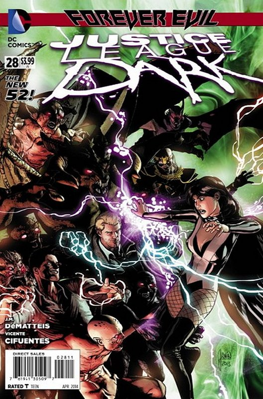 Cover of Justice League Dark (Vol 1) #28. One of 250,000 Vintage American Comics on sale from Krypton!