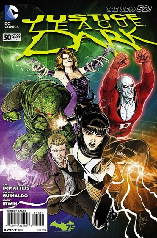 Cover of Justice League Dark (Vol 1) #30. One of 250,000 Vintage American Comics on sale from Krypton!