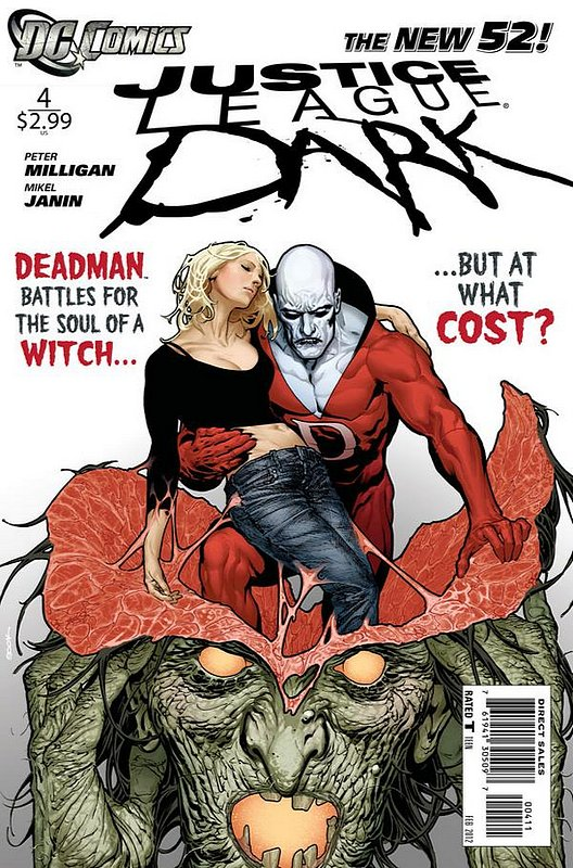 Cover of Justice League Dark (Vol 1) #4. One of 250,000 Vintage American Comics on sale from Krypton!