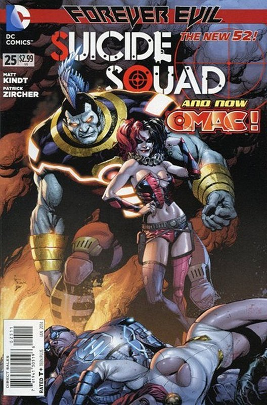 Cover of Suicide Squad (Vol 3) #25. One of 250,000 Vintage American Comics on sale from Krypton!