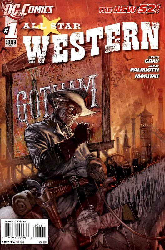 Cover of All-Star Western (Vol 3) #1. One of 250,000 Vintage American Comics on sale from Krypton!