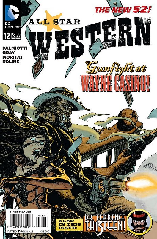 Cover of All-Star Western (Vol 3) #12. One of 250,000 Vintage American Comics on sale from Krypton!