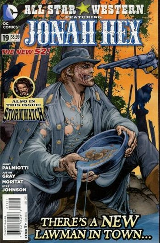 Cover of All-Star Western (Vol 3) #19. One of 250,000 Vintage American Comics on sale from Krypton!