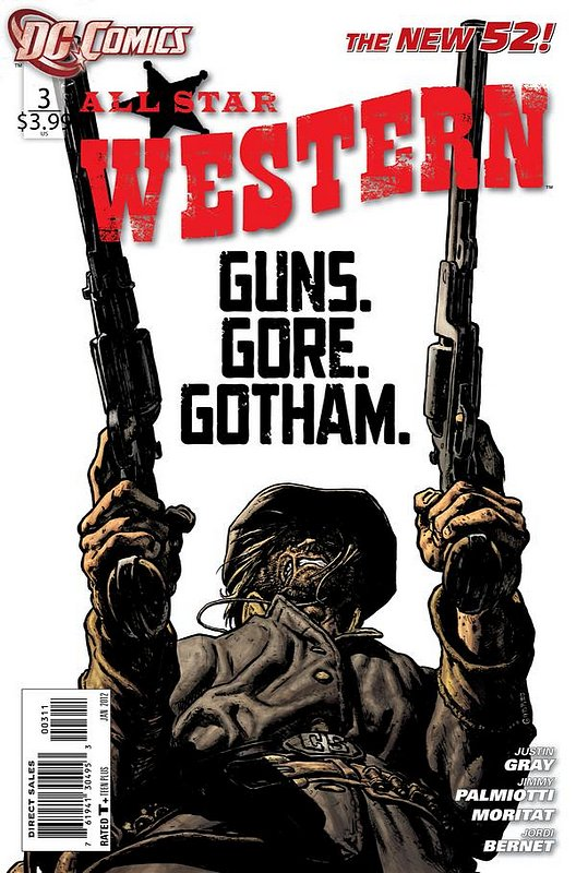 Cover of All-Star Western (Vol 3) #3. One of 250,000 Vintage American Comics on sale from Krypton!