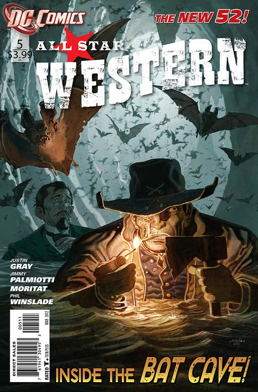 Cover of All-Star Western (Vol 3) #5. One of 250,000 Vintage American Comics on sale from Krypton!