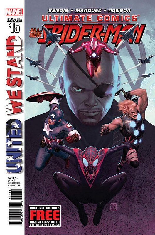 Cover of Ultimate Comics Spider-Man (Vol 2) #15. One of 250,000 Vintage American Comics on sale from Krypton!