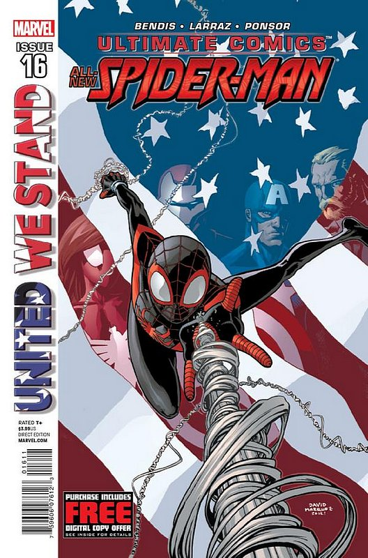 Cover of Ultimate Comics Spider-Man (Vol 2) #16. One of 250,000 Vintage American Comics on sale from Krypton!