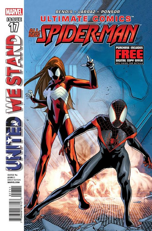 Cover of Ultimate Comics Spider-Man (Vol 2) #17. One of 250,000 Vintage American Comics on sale from Krypton!