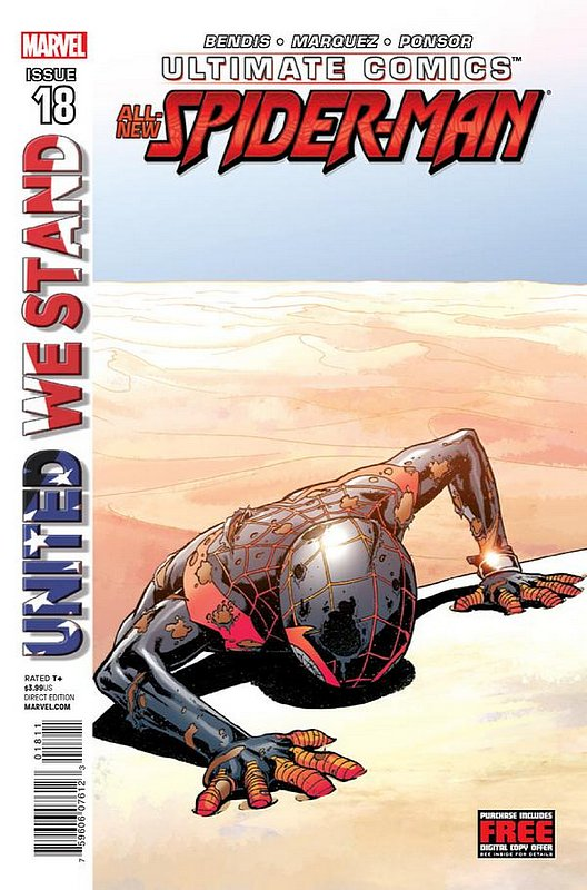 Cover of Ultimate Comics Spider-Man (Vol 2) #18. One of 250,000 Vintage American Comics on sale from Krypton!