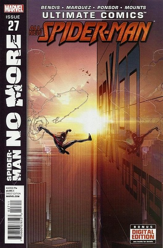 Cover of Ultimate Comics Spider-Man (Vol 2) #27. One of 250,000 Vintage American Comics on sale from Krypton!