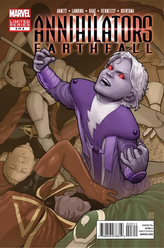 Cover of Annihilators: Earthfall (2011 Ltd) #3. One of 250,000 Vintage American Comics on sale from Krypton!