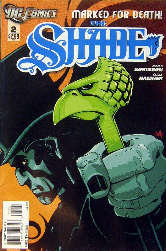 Cover of Shade (2011 Ltd) #2. One of 250,000 Vintage American Comics on sale from Krypton!