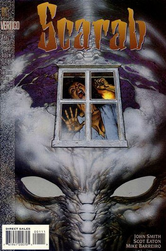 Cover of Scarab (1993 Ltd) #1. One of 250,000 Vintage American Comics on sale from Krypton!