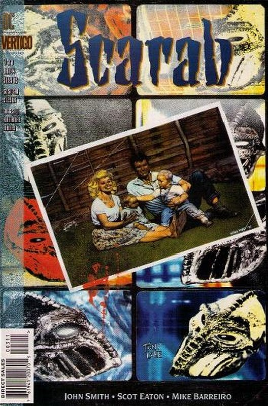 Cover of Scarab (1993 Ltd) #3. One of 250,000 Vintage American Comics on sale from Krypton!