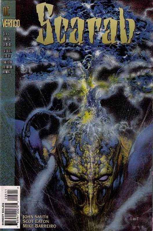 Cover of Scarab (1993 Ltd) #5. One of 250,000 Vintage American Comics on sale from Krypton!