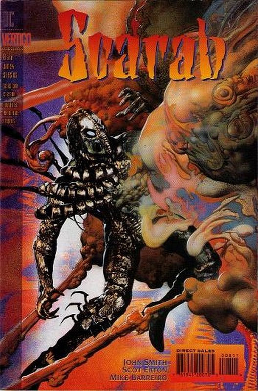 Cover of Scarab (1993 Ltd) #8. One of 250,000 Vintage American Comics on sale from Krypton!