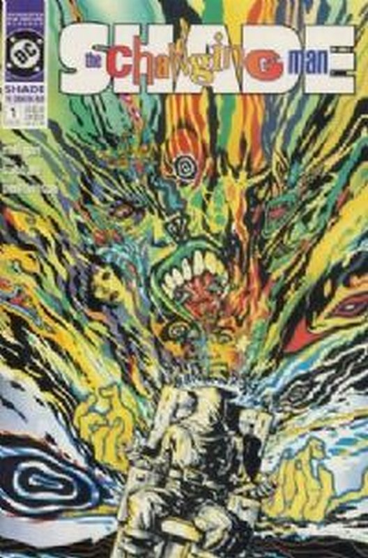 Cover of Shade: The Changing Man (Vol 2) #1. One of 250,000 Vintage American Comics on sale from Krypton!
