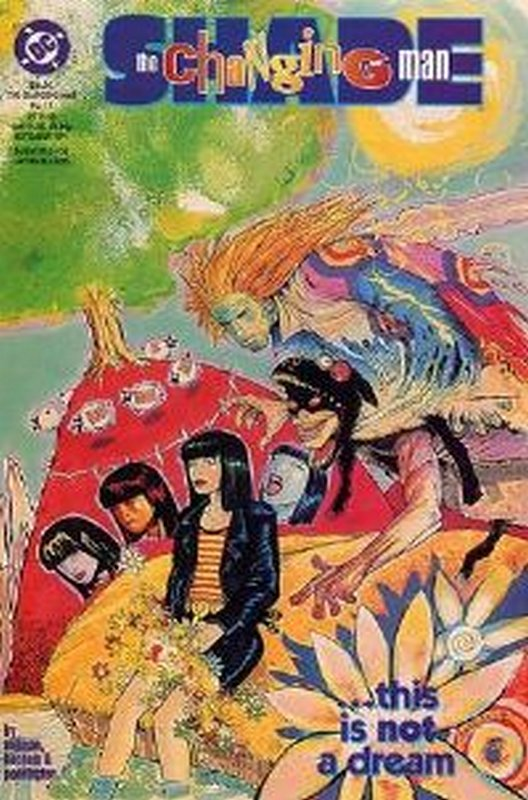 Cover of Shade: The Changing Man (Vol 2) #15. One of 250,000 Vintage American Comics on sale from Krypton!