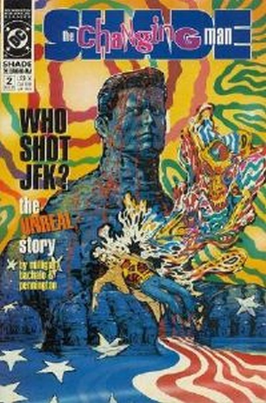 Cover of Shade: The Changing Man (Vol 2) #2. One of 250,000 Vintage American Comics on sale from Krypton!