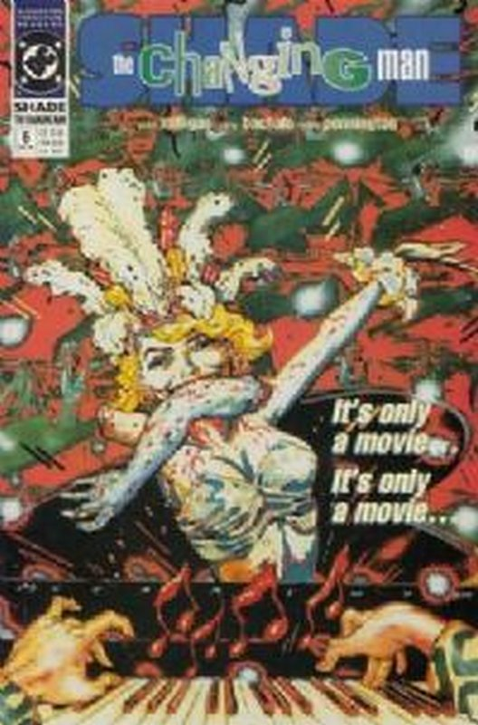 Cover of Shade: The Changing Man (Vol 2) #6. One of 250,000 Vintage American Comics on sale from Krypton!