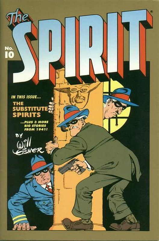 Cover of Spirit: The Origin Years #10. One of 250,000 Vintage American Comics on sale from Krypton!