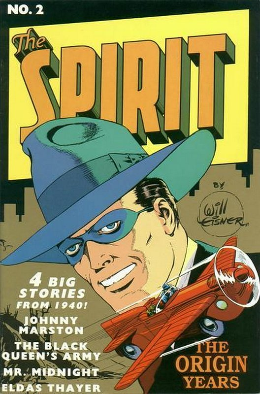 Cover of Spirit: The Origin Years #2. One of 250,000 Vintage American Comics on sale from Krypton!