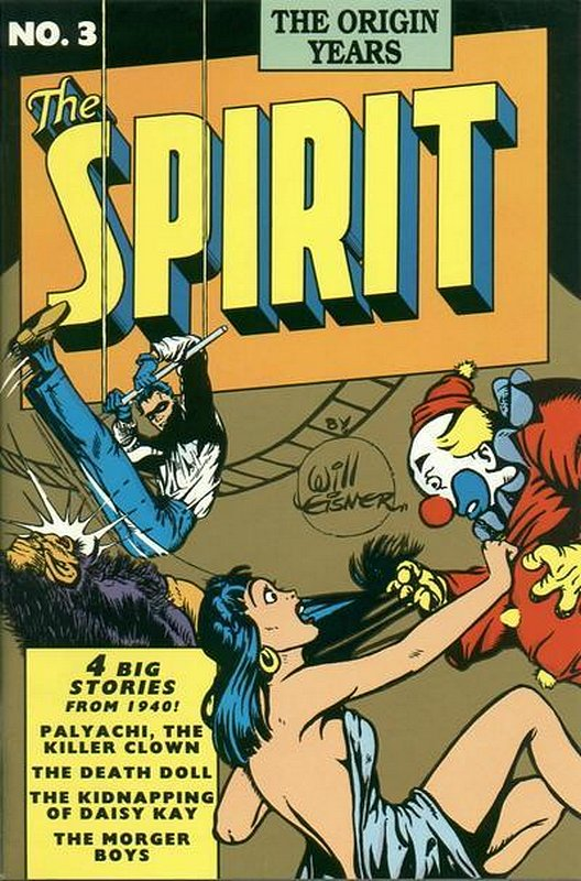Cover of Spirit: The Origin Years #3. One of 250,000 Vintage American Comics on sale from Krypton!