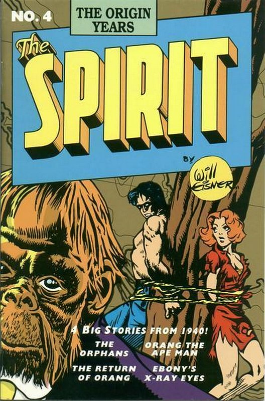 Cover of Spirit: The Origin Years #4. One of 250,000 Vintage American Comics on sale from Krypton!