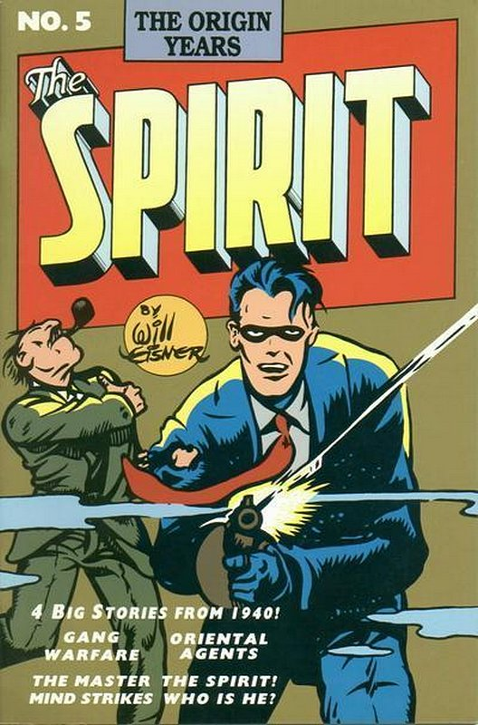 Cover of Spirit: The Origin Years #5. One of 250,000 Vintage American Comics on sale from Krypton!