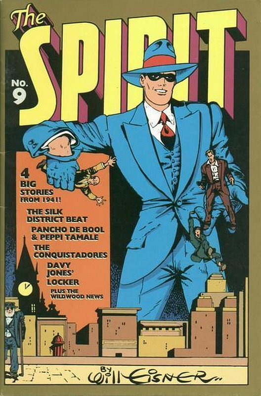 Cover of Spirit: The Origin Years #9. One of 250,000 Vintage American Comics on sale from Krypton!