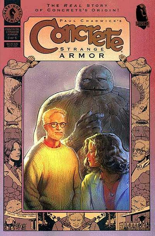Cover of Concrete: Strange Armor (1997 Ltd) #3. One of 250,000 Vintage American Comics on sale from Krypton!