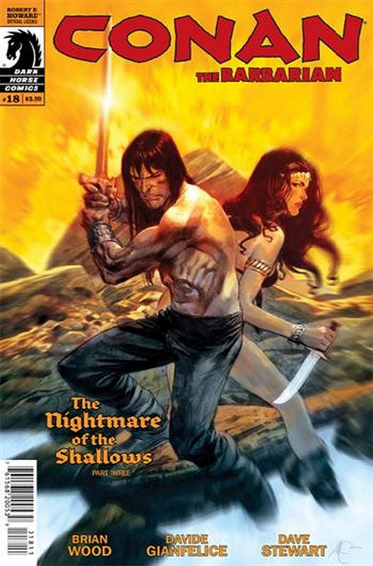 Cover of Conan (Dark Horse) (Vol 2) The Barbarian #18. One of 250,000 Vintage American Comics on sale from Krypton!
