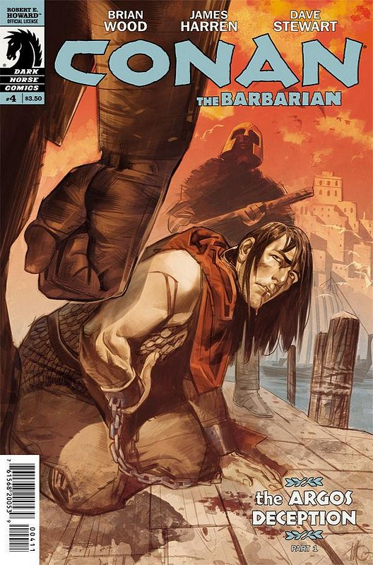 Cover of Conan (Dark Horse) (Vol 2) The Barbarian #4. One of 250,000 Vintage American Comics on sale from Krypton!