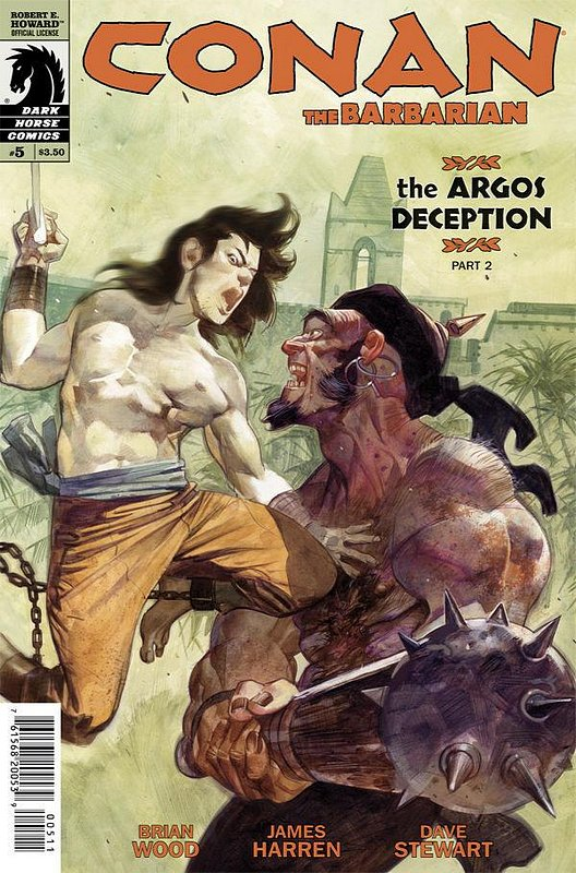 Cover of Conan (Dark Horse) (Vol 2) The Barbarian #5. One of 250,000 Vintage American Comics on sale from Krypton!