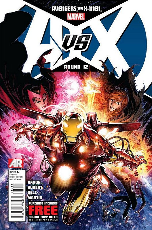 Cover of Avengers vs X-Men (2012 Ltd) #12. One of 250,000 Vintage American Comics on sale from Krypton!
