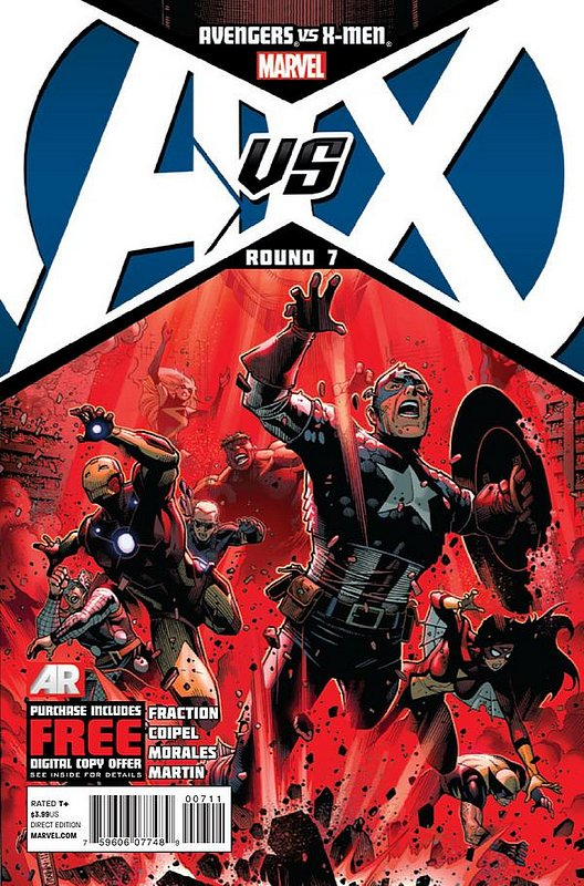 Cover of Avengers vs X-Men (2012 Ltd) #7. One of 250,000 Vintage American Comics on sale from Krypton!